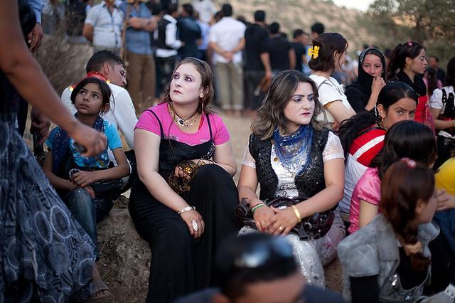 Yazidi gathering