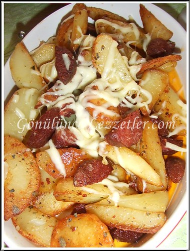 sucuklu patates