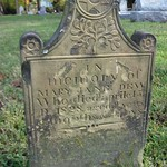 In memory of Mary Jane Dew, died 1828, aged 9 years