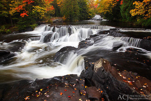 Collectively Falling - Bond Falls (Bond Falls State Park - Upper Michigan)