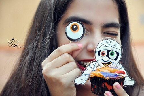 Halloween Cup cakes (part 2)
