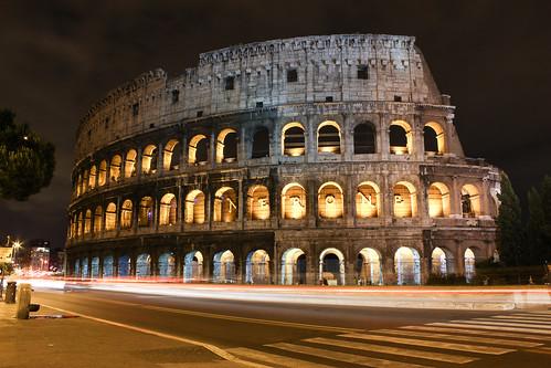 longexposure rome nightshot arches colosseum coliseum nero ancientrome nerone romancolosseum romancoliseum italy1