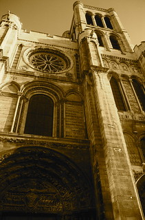 Facade of Abbey of St. Denis