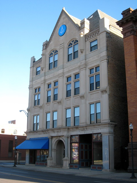 Lodge Masonic Temple http://www.flickr.com/photos/radunzel/6320340793/