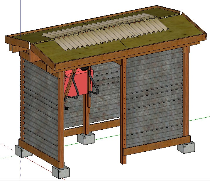 Building a corrugated metal shed, small wood project plans
