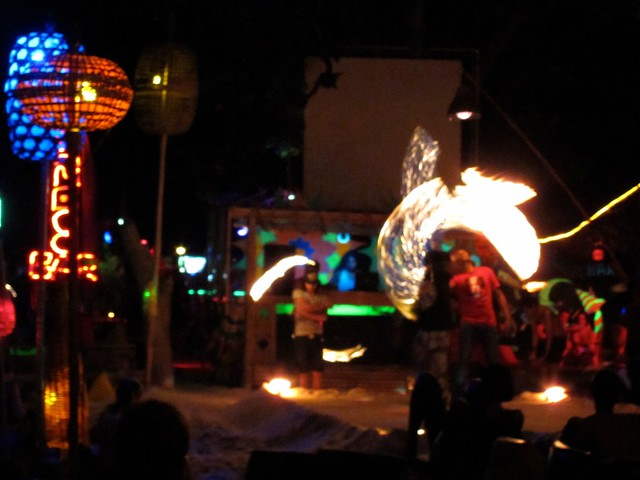 Fire show, Koh Phi Phi Don