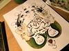 Sail away in process...watercolors +