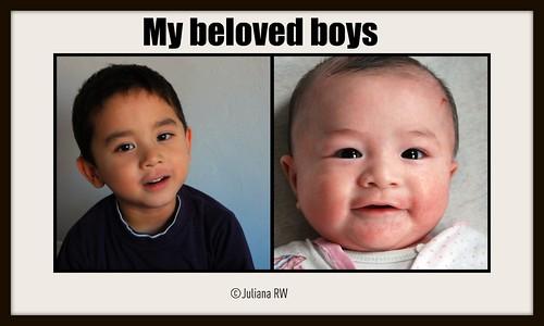 My beloved boys