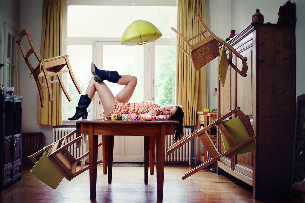 Laissons donc la gravité à ceux qui ne savent pas rêver.