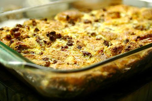 Brunch Idea for the Weekend:  Bacon, Potato & Egg Breakfast Casserole