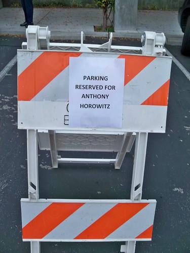 Anthony Horowitz @ The Belmont Library