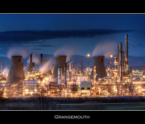 Grangemouth  by Colin Plunkett