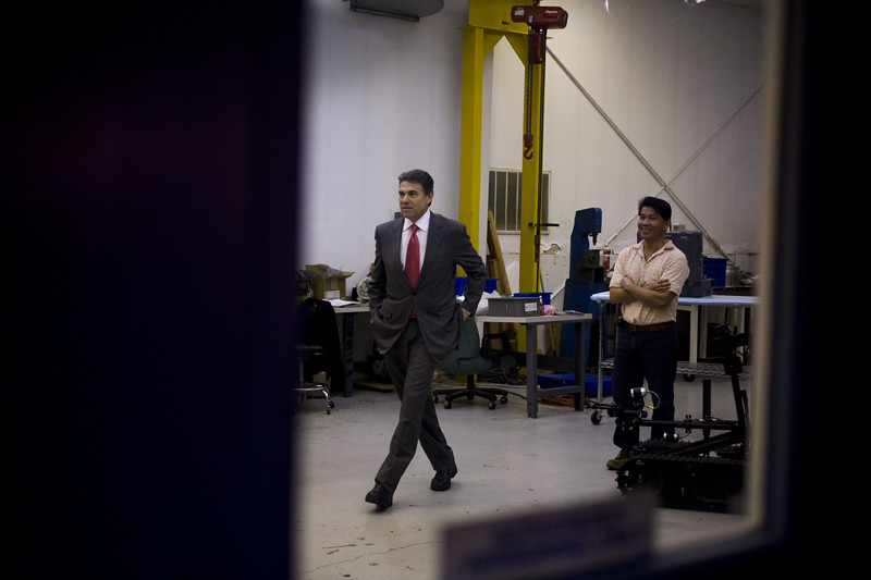 Rick Perry visits New Hampshire