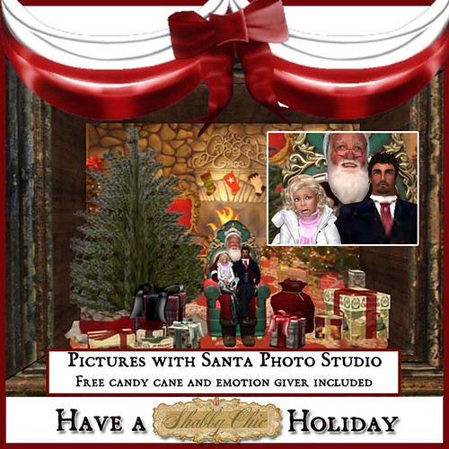 Shabby Chic Pictures with Santa Photo Studio by Shabby Chics