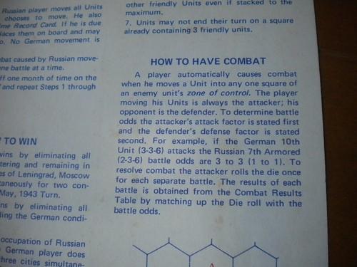 Stalingrad - Combat Rules