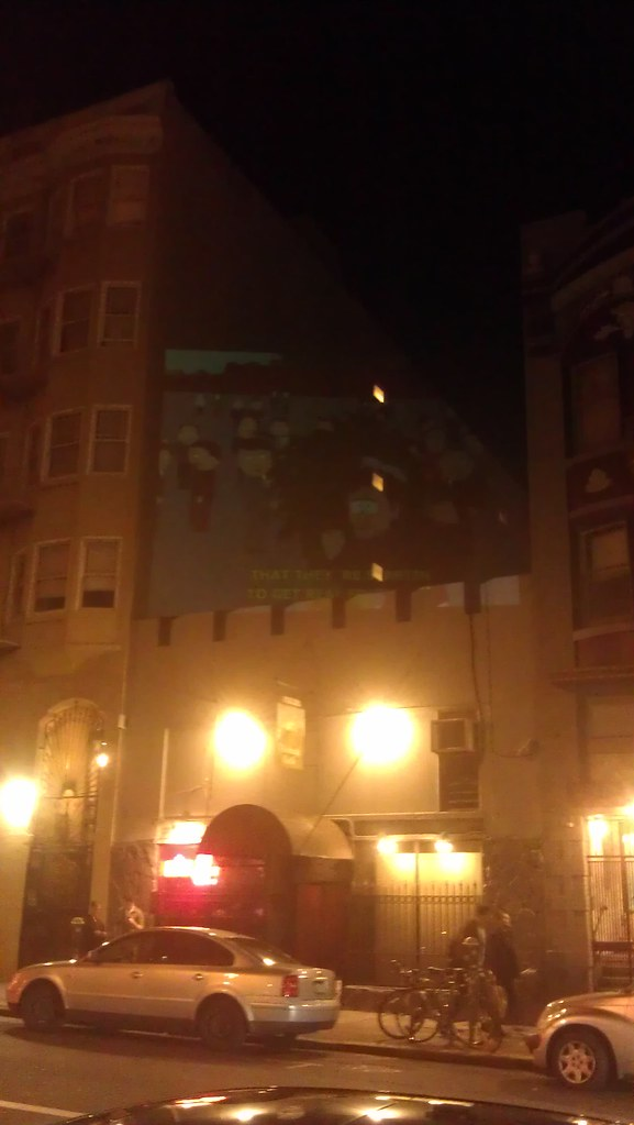 Movie Projecting in the Tenderloin