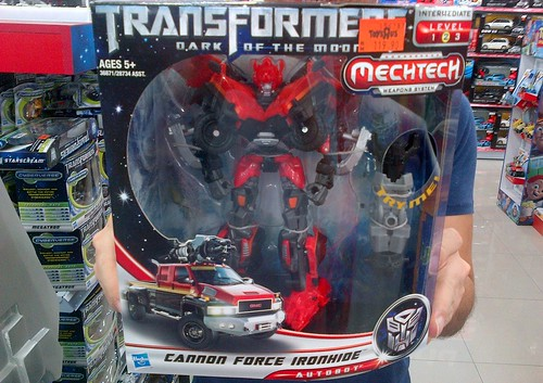 cannon force ironhide....K.O. toy by Hasbro?
