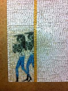 Nancy Spero Mosaics W 66th ST Station 1 Train NYC