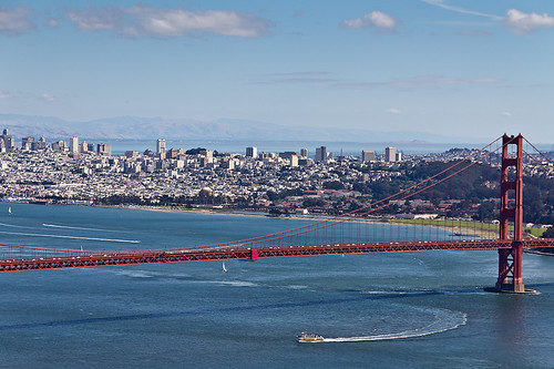 sanfrancisco california bridge usa ship view sightseeing canon60d