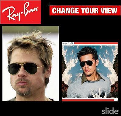 gafas-sol-Rayban-Brad-Pitt
