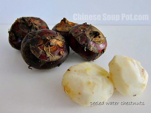 [photo-fresh water chestnuts]