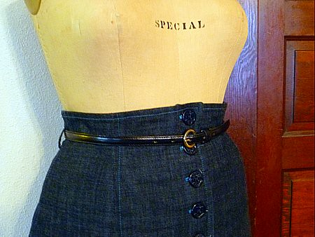 waist detail-beignet