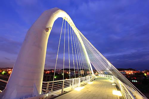 46L1新竹香山豎琴橋
