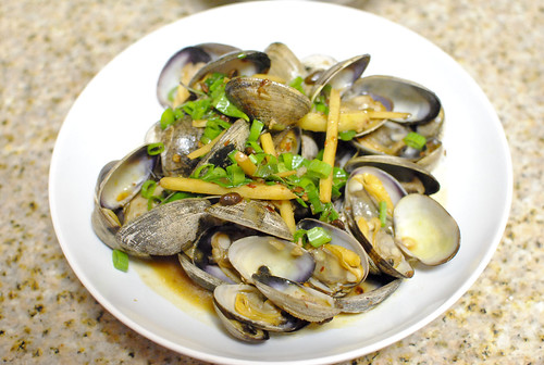 clams in black bean sauce3