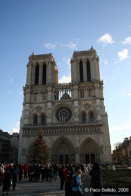 Catedral de Notre-Dame. © Paco Bellido, 2006