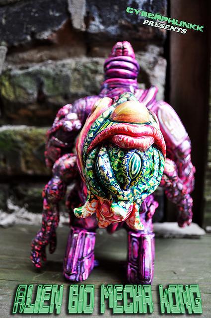 Cyberphunkk Custom Bio Mecha Kong