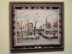 岡鹿之助 《セーヌ河畔》1927年