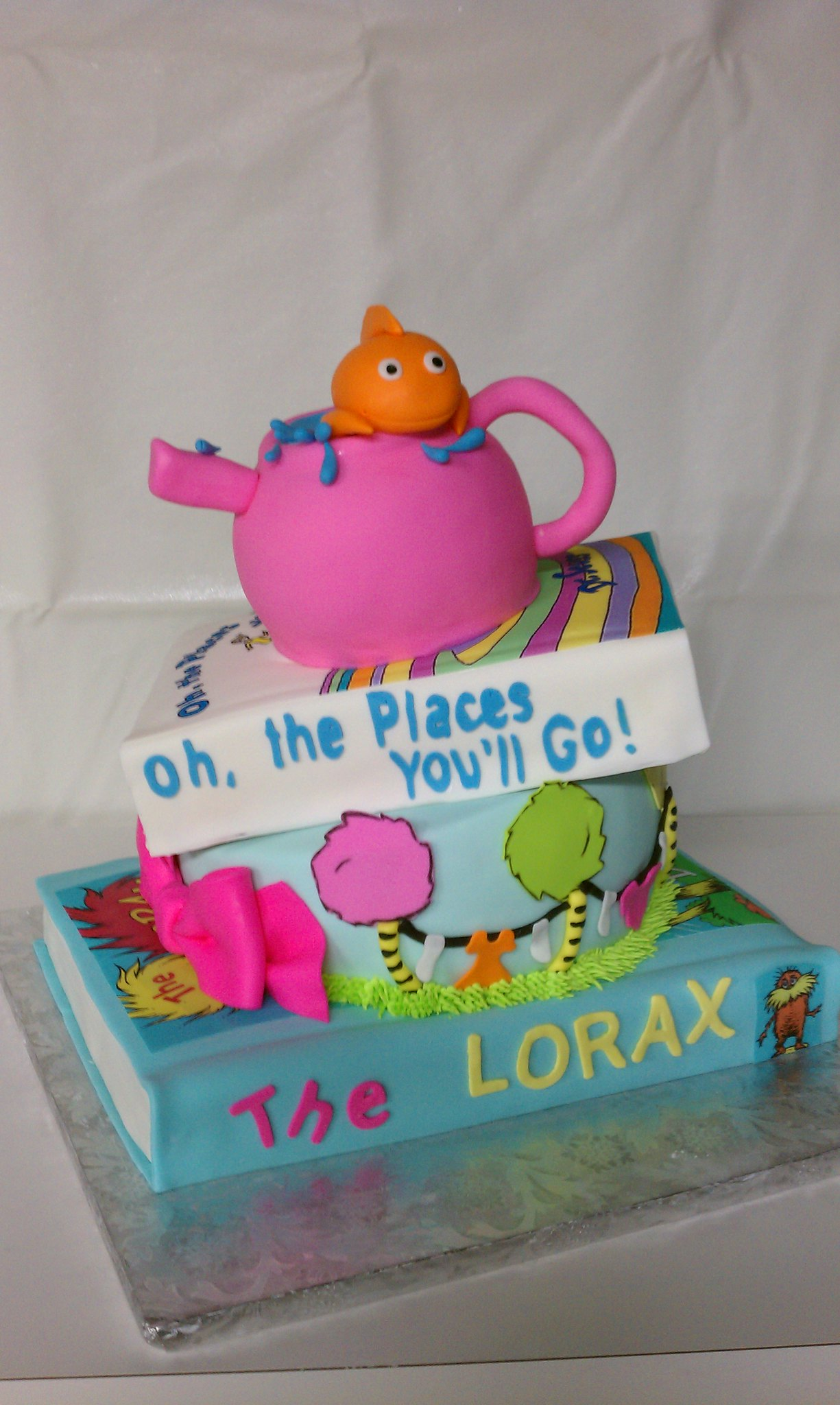 dr seuss girly baby shower cake flickr photo sharing