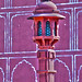 Pink Spire at Jaipur city palace