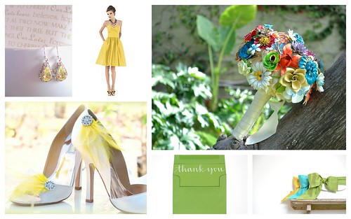 Spring Bridesmaid's Style by Nina Renee Designs
