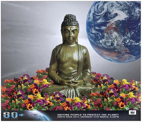 Buda * La Hora del Planeta en el Mundo by jacilluch
