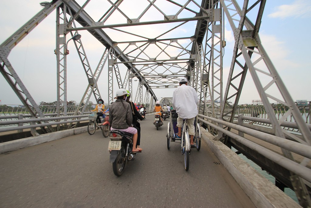 Cyclo ride- Hue, Vietnam