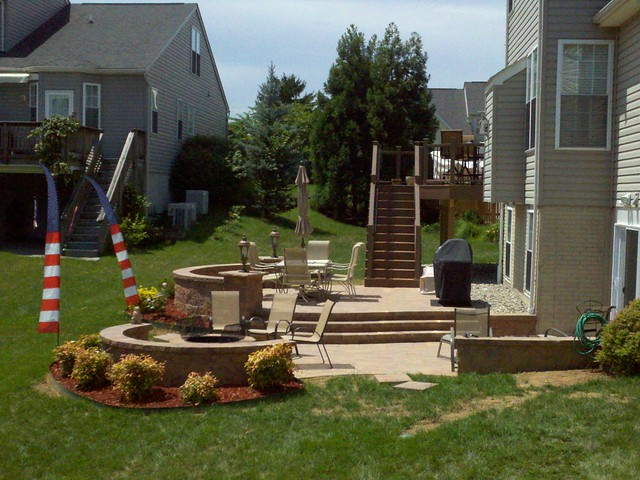 Multi Level Backyard Decks : Multi level deck and patio  Flickr  Photo Sharing!