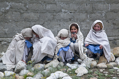 Wakhi school girls
