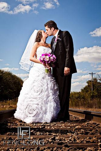 railroad flowers wedding train canon georgia eos 50mm dress tracks 12 romanian lawrenceville 2011 strobist 5dmarkii zacharylong fenglongphotocom fenglongphotography bettyfeng