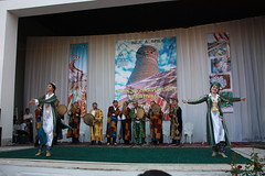 Bukhara, Silk and Spices festival, dancers and orchestra