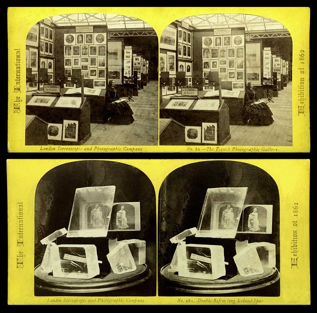 2-D, 3-D, and ICELAND SPAR-D -- Fantastic Photo Displays from the INTERNATIONAL EXHIBITION of 1862