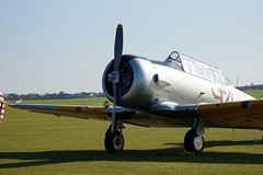 aviation, military aircraft, airliner, airplane, propeller driven aircraft, vehicle, north american t-6 texan, aircraft engine,