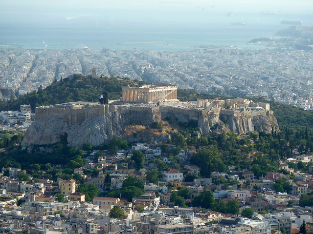 Views from the Acropolis - Athens, Greece by flickr user K_Dafalias