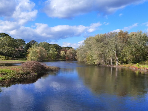 autumn sky reflection nature clouds massachusetts newengland autumncolors concord reflectioninwater oldnorthbridge