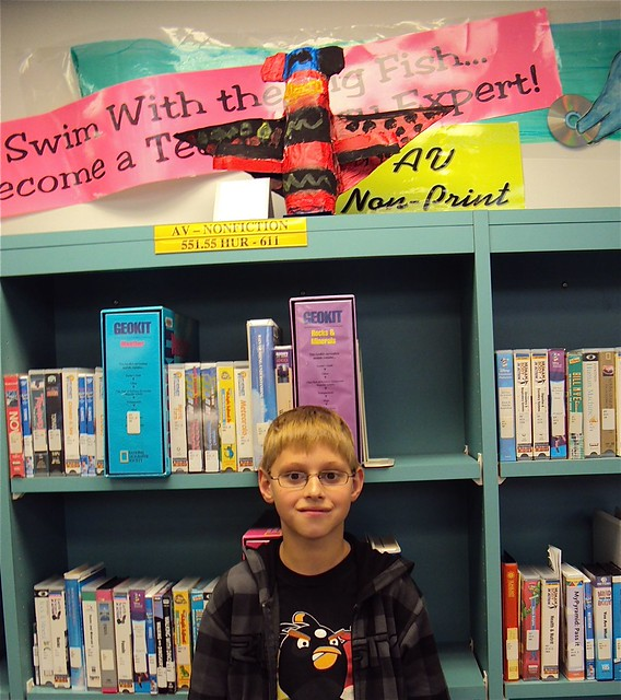 MHMS Library Art Installation -