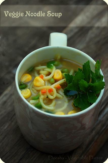 Veggie Noodle Soup 1