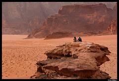 Wadi rum desert view