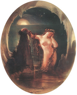 "Daniel Maclise (1806-1870), ""The Origin of the Harp"""