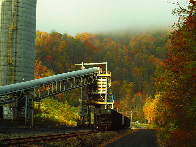 Early fall morning, West Virginia October 25, 2011 by akapuffin.