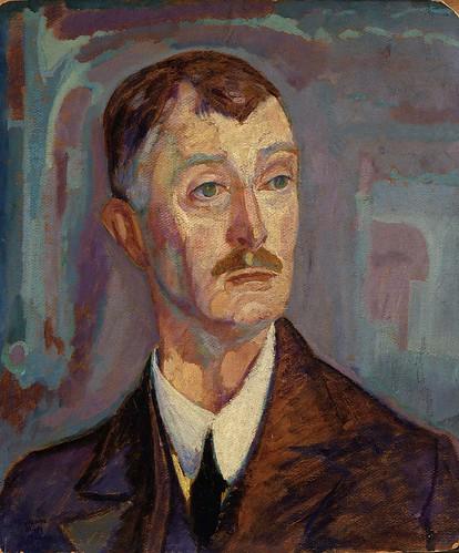 Jerome Blum - Portrait of John Masefield [1918]